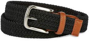 Izod Black Stretch Web Belt - Boys 4-20