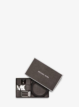 Michael Kors Four-In-One Leather Belt Box Set