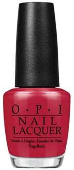 OPI Nail Lacquer Nail Polish, Chick Flick Cherry.