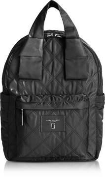 Marc Jacobs Black Nylon Knot Backpack - BLACK - STYLE