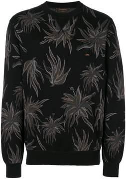 Ermenegildo Zegna Couture knitted flower jumper