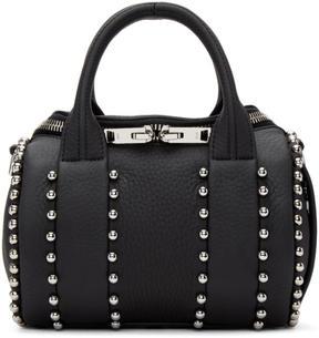 Alexander Wang Black Mini Rockie Ball Stud Bag