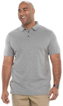 Apt. 9 Big & Tall Core Interlock Heather Polo Shirt