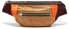 Isabel Marant Noomi Technical Belt Bag - Womens - Burgundy Multi