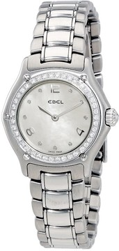 Ebel 1911 White Mother of Pearl Dial Stainless Steel Ladies Watch