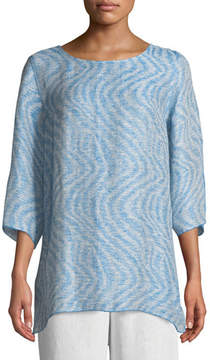 Caroline Rose Ride the Wave Easy Linen/Cotton Tunic