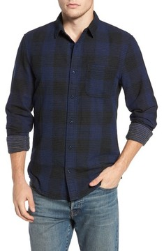 1901 Men's Dot Buffalo Plaid Shirt