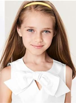 Oscar de la Renta Kids Kids | Cotton Sleeveless Bow Blouse | 8 years