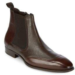 Mezlan Leather Chelsea Boots