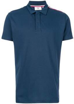 Rossignol asymmetric stripe detail polo shirt