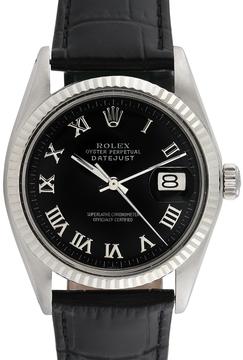 Rolex Men's Vintage Stainless Steel Datejust Watch, 36mm