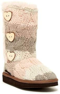 Muk Luks Malena Faux Fur Lined Boot (Toddler & Little Kid)