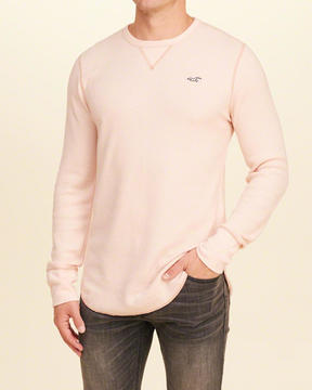Hollister Thermal Curved Hem T-Shirt