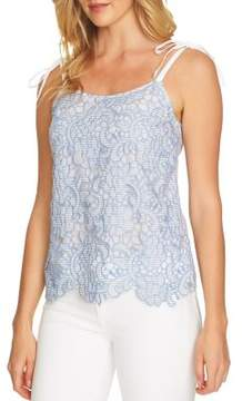 CeCe Sleeveless Lace Top