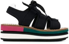 Marni wedge platform sandals