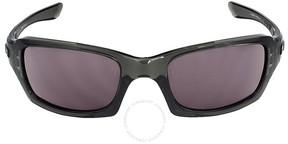 Oakley Fives Squared Sunglasses - Grey Smoke/Warm Grey