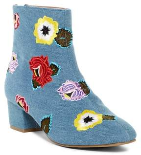 Betsey Johnson Twiggy Embroidered Boot