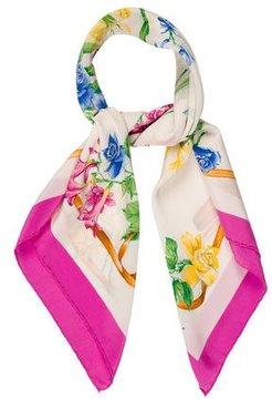 Nina Ricci Floral Printed Scarf