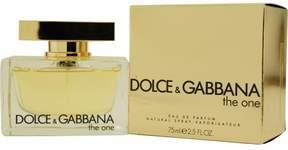 Dolce & Gabbana The One Eau De Parfum Spray - 2.5 oz.