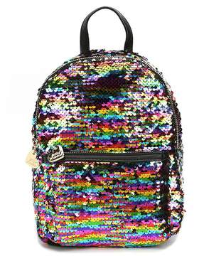 Betsey Johnson Sequined Mini Backpack