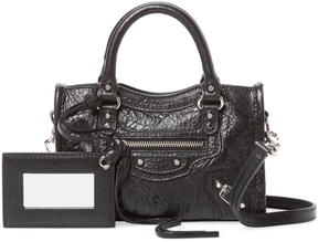 Balenciaga Women's Classic City Nano Leather Crossbody