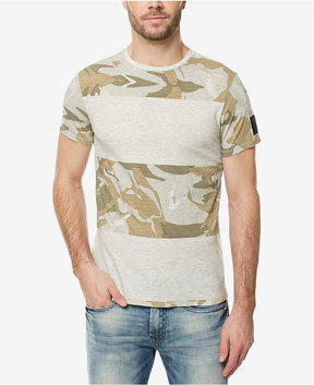 Buffalo David Bitton Men's Camo Pattern-Blocked T-Shirt