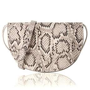 Co The Lovely Tote Women's 2-Ways Python Print Waist Bag Cross-body Bag