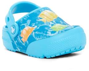 Crocs Slip-On Print Light Up Clog (Toddler Boy & Little Kid)