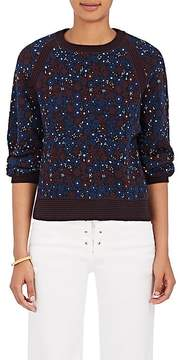 Chloé Women's Floral Cotton-Blend Sweater