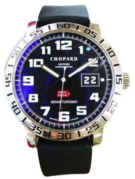 Chopard Mille Milgia Gran Turismo 8955 Stainless Steel Automatic Black Dial 40mm Mens Watch