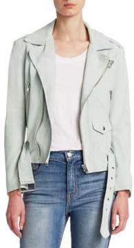 IRO Guape Belted Leather Jacket