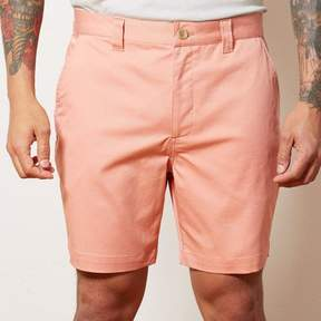 Blade + Blue Coral Cotton Stretch Twill Shorts