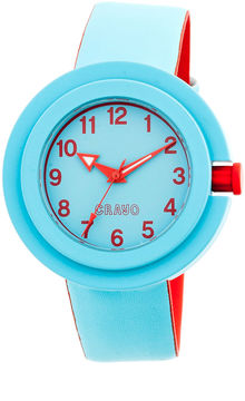 Crayo Womens Equinox Cerulean Strap Watch CRACR2805