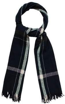 Rag & Bone Plaid Wool-Blend Scarf