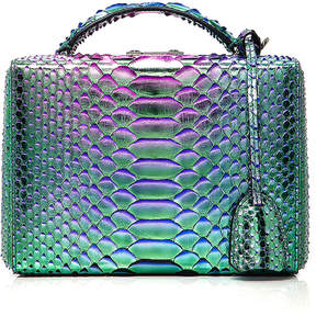 Mark Cross Grace Small Python Box Bag