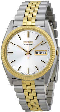 Seiko Day/Date Dress Two-tone Stainless Steel Men's Watch