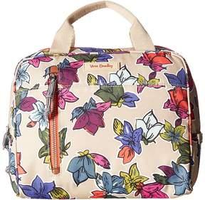 Vera Bradley Lunch Cooler Handbags - FALLING FLOWERS NEUTRAL - STYLE