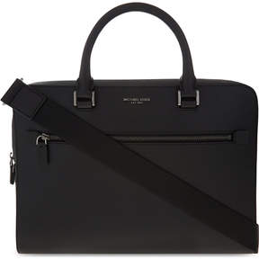 Michael Kors Harrison medium leather briefcase - BLACK - STYLE