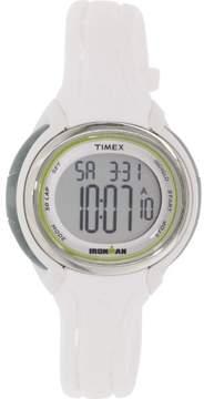 Timex Ironman Sleek 50 Lap Mid Size Watch White