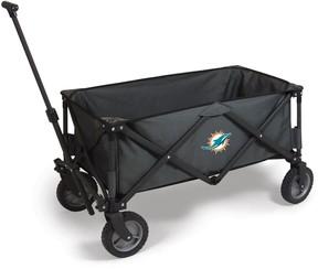 Picnic Time Miami Dolphins Adventure Folding Utility Wagon
