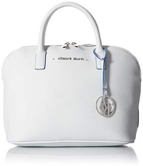 Armani Jeans Bowling Bag Satchel