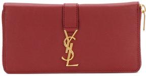 Saint Laurent flap wallet - PINK & PURPLE - STYLE