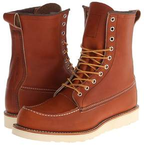 Red Wing Shoes 8 Moc Toe Men's Boots