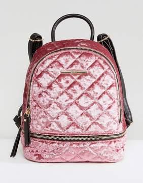 ALDO Adroiana Velvet Mini Backpack