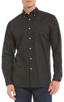 Daniel Cremieux Graph Check Long-Sleeve Woven Shirt