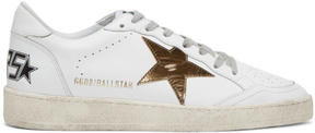 Golden Goose Deluxe Brand White Ball Star Sneakers