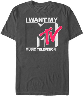 Fifth Sun Charcoal 'I Want My Music Television' Tee - Men