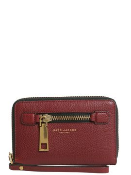 Marc Jacobs Zip Around Wallet - BORDEAUX - STYLE