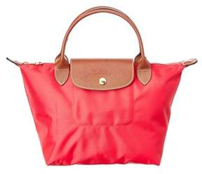 Longchamp Le Pliage Small Nylon Top Handle. - RED - STYLE