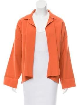 eskandar Wool Open-Front Jacket